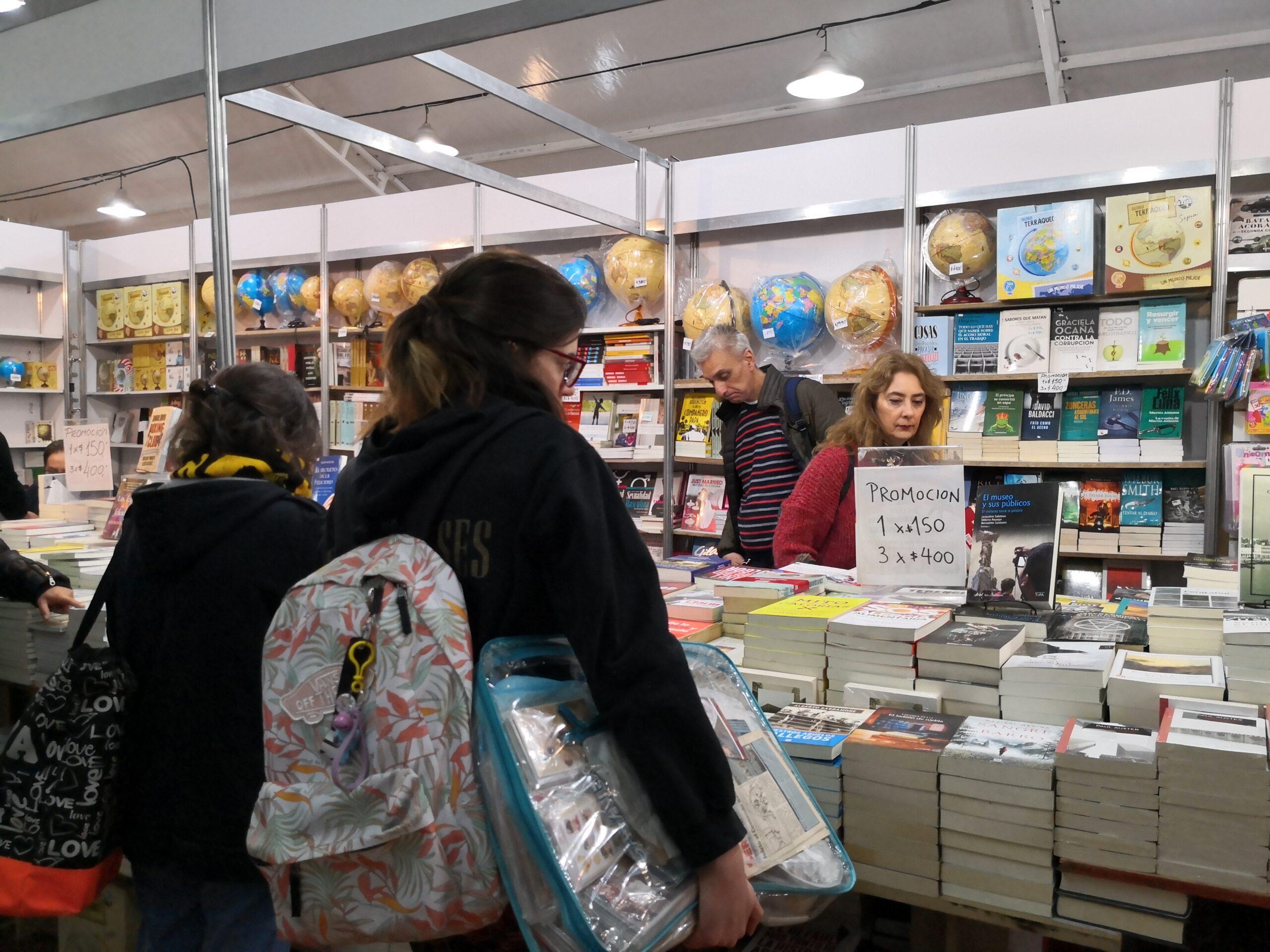 Agendalo para hoy en la Feria del Libro 2019
