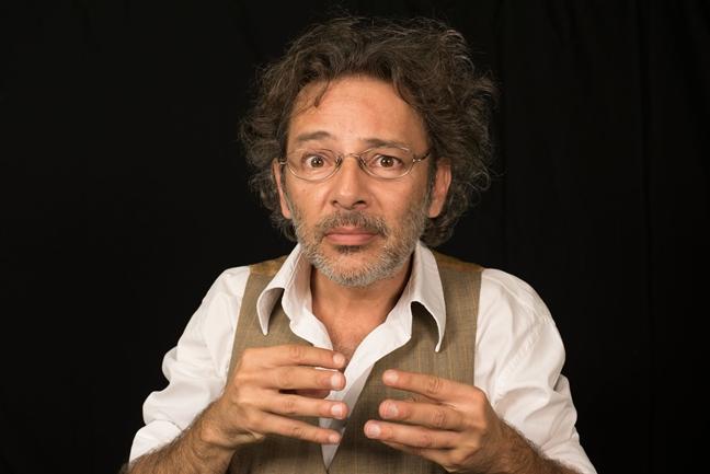 """Fabián Vena: """"Ser actor se los debo a los libros"""""""