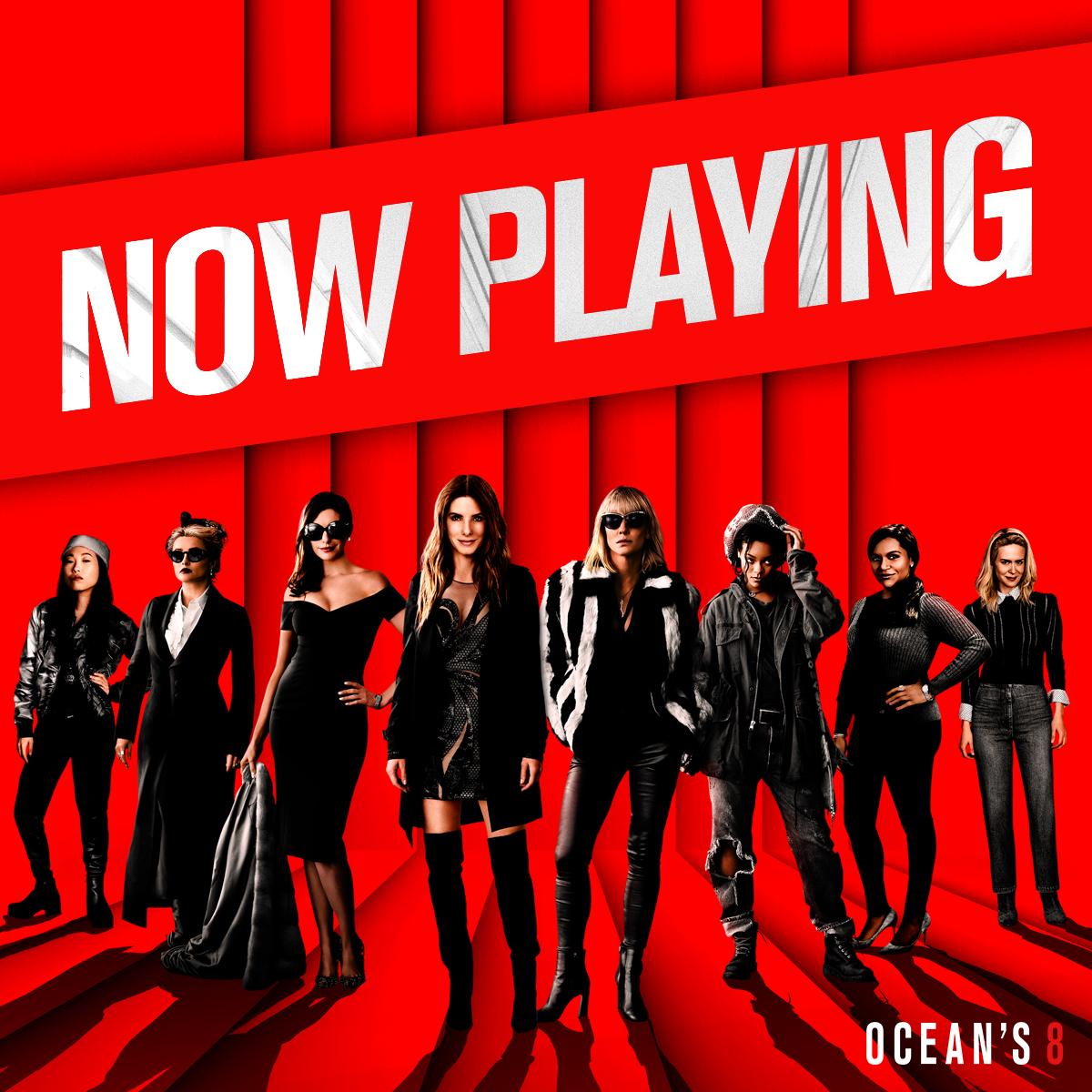 """""""Ocean's 8"""": La trama en sí, una gran estafa"""