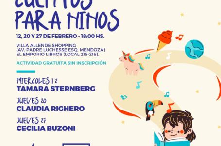 Literatura: Tardes de cuentos para niños en El Emporio