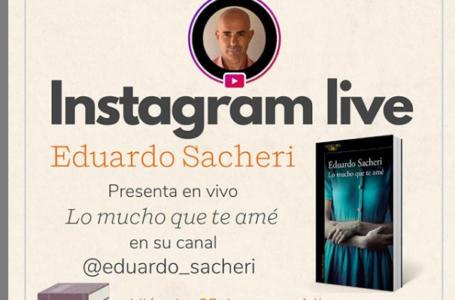 Agenda virtual: Instagram Live con Eduardo Sacheri