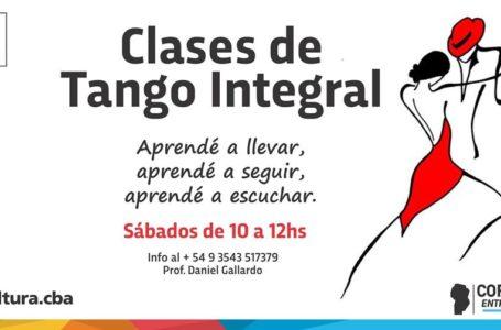 Danza: Clases de Tango Integral
