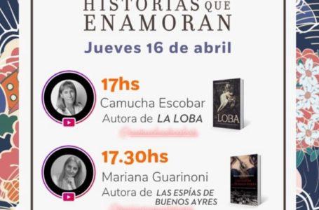 Agenda virtual: Camucha Escobar y Mariana Guarinoni por Instagram Live