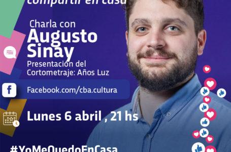 Agenda virtual: Augusto Sinay presenta el cortometraje «Años luz»