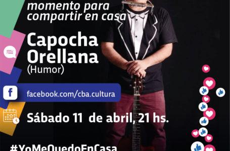 Agenda virtual: Humorista Capocha Orellana en Facebook