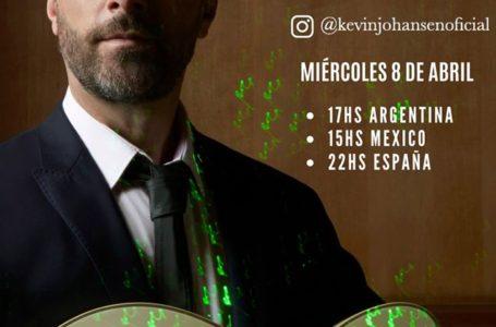 Agenda virtual: Concierto de Kevin Johansen por Instagram Live