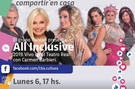 Agenda virtual: Registro en vivo de la obra «Los CanCan»