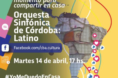 Agenda virtual: Concierto «Latino» de la Orquesta Sinfónica de Córdoba