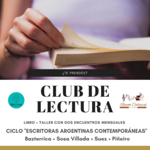 flyer club de la lectura